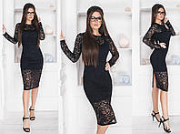 Женское платье гипюр, фото 1