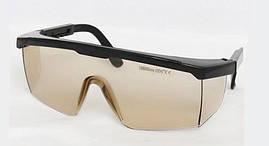 Очки защитные LSG-4 оправа 5 для лазера СО2 10600nm. O.D. 5+ (медицинского и промышленного) Ю. Корея