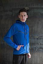 Мужской спортивный костюм Nike KD-1490.Синий, фото 2
