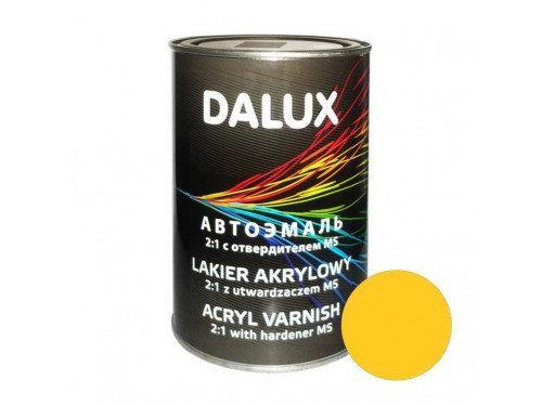 Автокраска акриловая 299 Желтая DALUX 2K, 1л. без отвердителя
