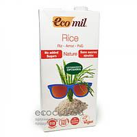 Растительное органическое молоко из риса Ecomil 1000 мл.