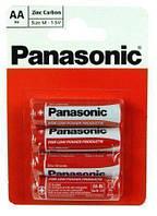 Батарейка Panasonic Red Zinc AA BLI 4 R6