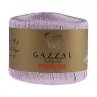Пряжа Gazzal Princess Сиреневый
