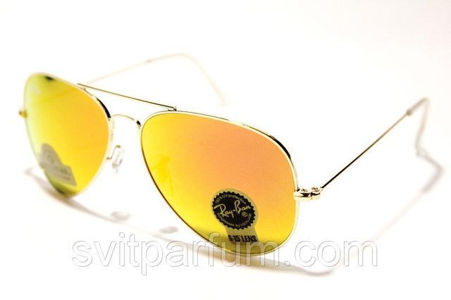 Солнцезащитные очки Ray Ban стекло капли