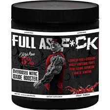 Предтренировочный комплекс RichPiana 5% Nutrition FULL AS F*UCK 30 serv