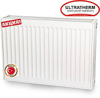Стальные радиаторы Ultratherm 22 тип 600/1100 боковое подключение (Турция), фото 1