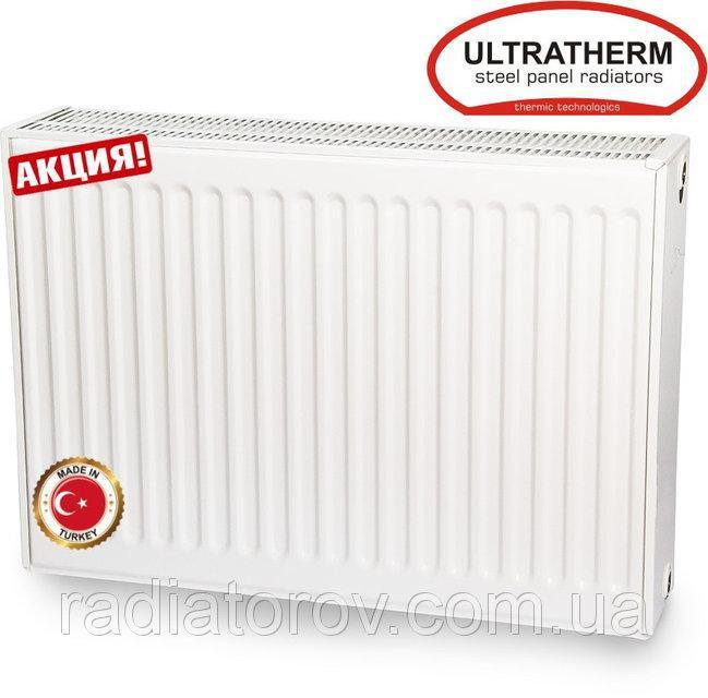Сталеві радіатори Ultratherm 22 тип 500/2000 нижнє/бокове підключення, Туреччина