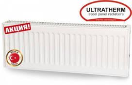 Стальные панельные радиаторы Ultratherm 22 тип 300/1000 боковое подключение (Турция)