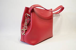 Малиновая сумка Voila, фото 2