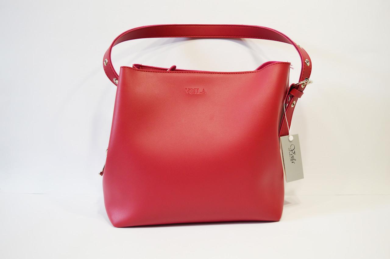 Малиновая сумка Voila