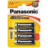 Батарейка Panasonic Alkaline Power AA BLI 4 LR03
