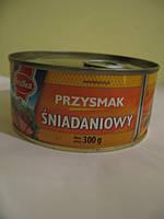 """Паштет """"Снеданковый"""" из свинины и мяса птицы 300грамм"""