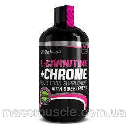 Жиросжигатель BioTech L-Carnitine 35.000+ Chrome 500ml