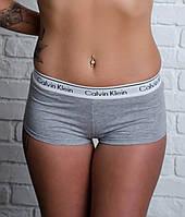 """Женские шорты Calvin Klein. Серые """"В cтиле"""""""