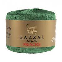 Пряжа Gazzal Princess зелёный