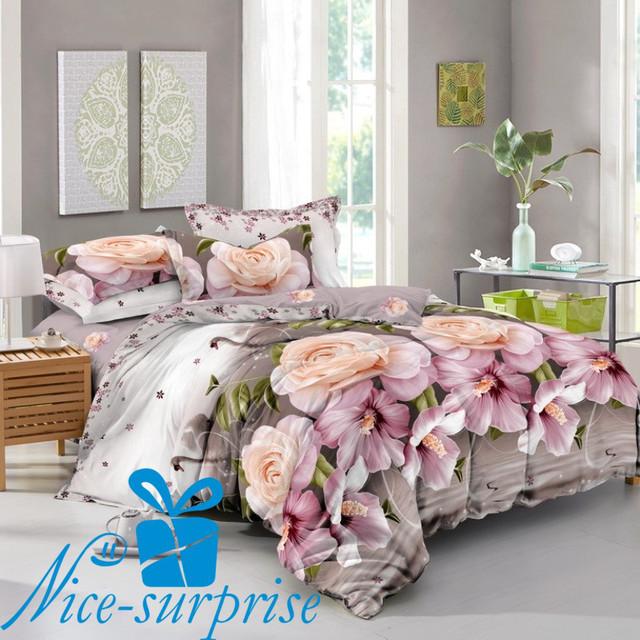купить семейное постельное белье из сатина в Киеве