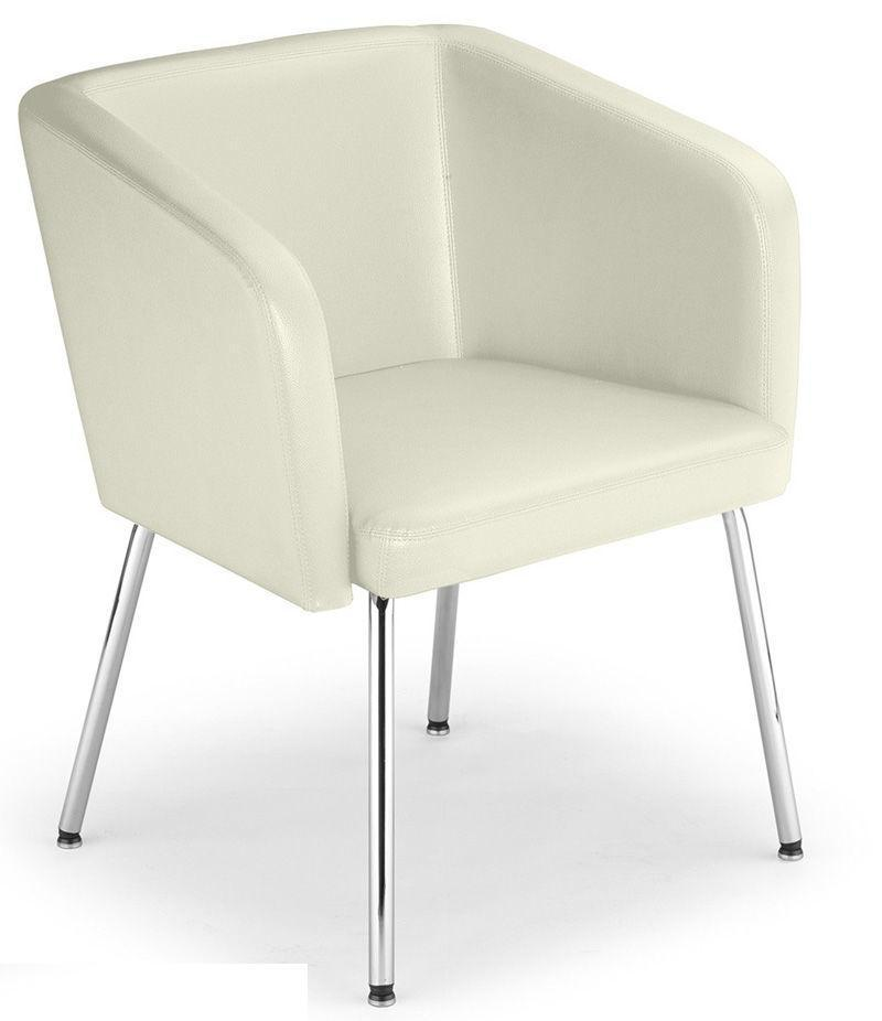 Кресло мягкое Hello 4L chrome экокожа Eсо-50 (Новый Стиль ТМ)