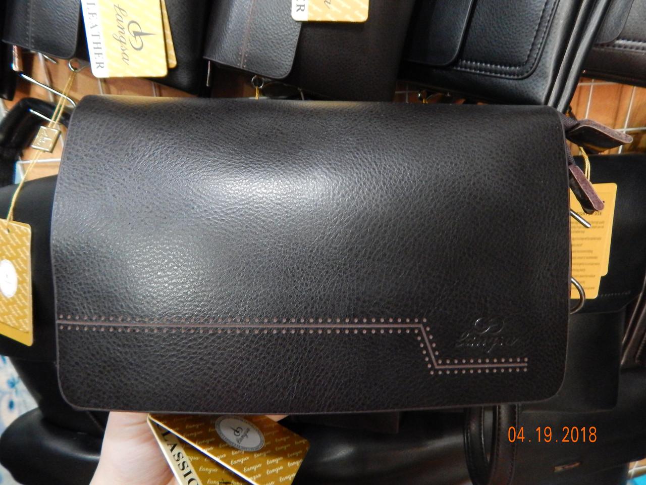 Мужская сумка/барсетка от фирмы Langsa опт/розница