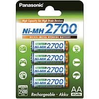 Аккумулятор Panasonic High Capacity AA Ni-MH 2700 мАч 4 шт