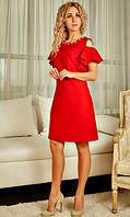 """Платье """"Фатина"""" красного цвета"""
