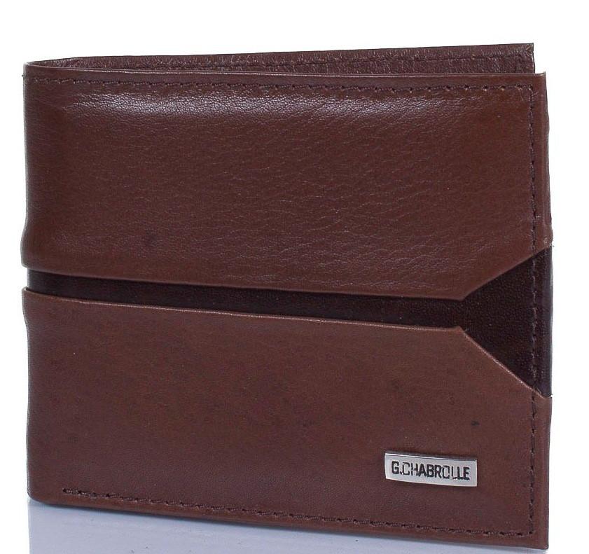 Портмоне мужское кожаное GEORGES CHABROLLE FARE90002-023, коричневый