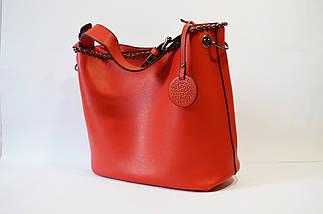 Сумка в сумке женская красная 9154, фото 2