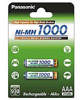 Аккумулятор Panasonic High Capacity AAA Ni-MH 1000 мАч 2 шт
