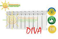 Алюминиевый радиатор Diva 300х85 дива Одесса