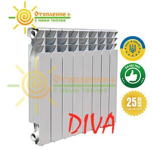 Алюминиевый радиатор Diva 500х96 дива Одесса
