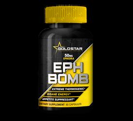 Жиросжигатель Gold Star EPH Bomb  60 caps