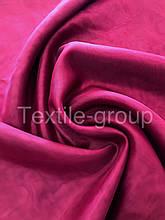 Шифон однотонный в цветах оптом бордовый