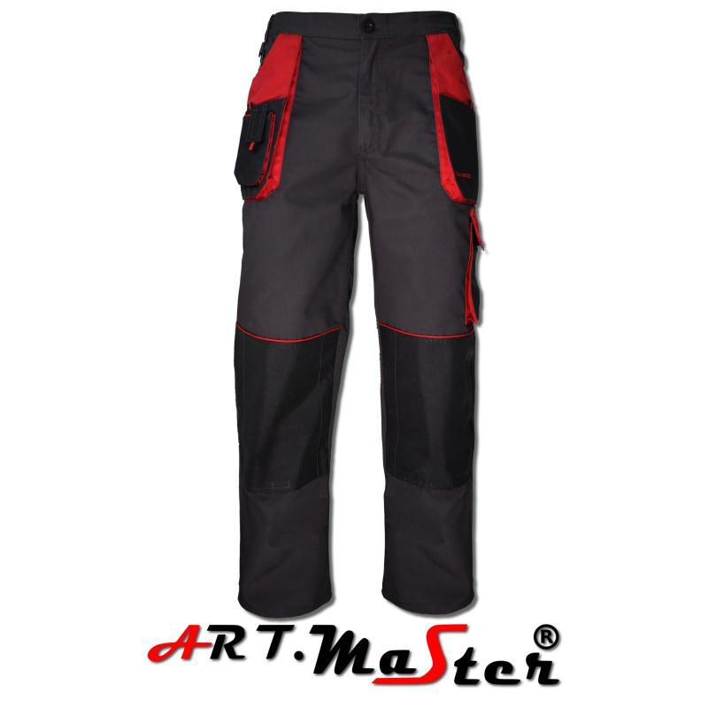 Классические брюки с красным поясом - привлекательный дизайн и отличная функциональность.