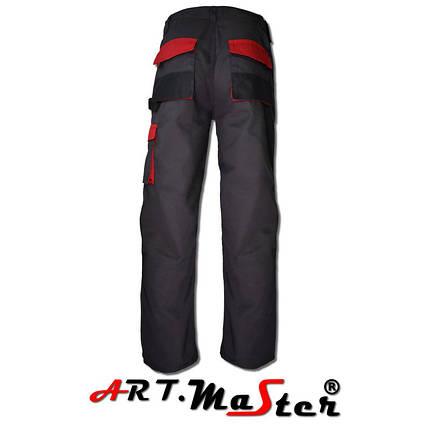 Классические брюки с красным поясом - привлекательный дизайн и отличная функциональность. , фото 2