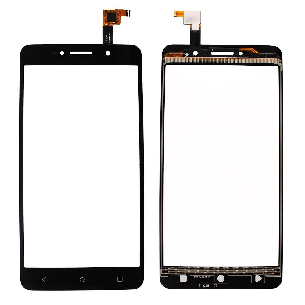 Сенсорний екран для смартфону Alcatel One Touch  8050D Pixi 4 (6) Dual Sim, тачскрін чорний