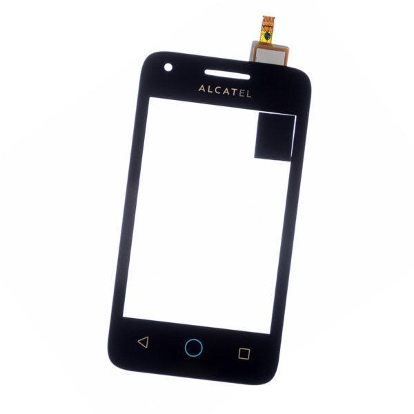 Сенсорний екран для смартфону Alcatel One Touch 4009D Dual Sim, тачскрін чорний