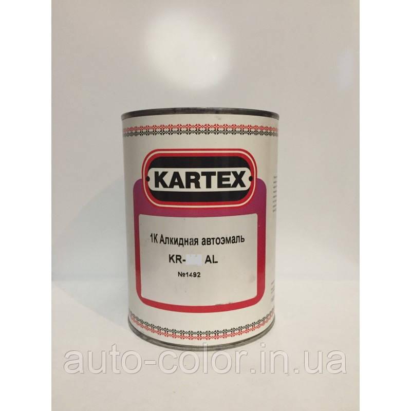 1K автомобільна емаль алкідна Kartex 1035 Жовта