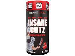 Жиросжигатель InsaneLabz Insane Cutz 45 caps