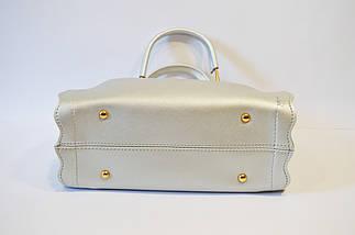 Серебристая сумка Voila, фото 3
