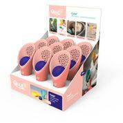Игровой набор для песка и снега Cuppi ТМ Quut (розовые совочки и фиолетовый мячик), фото 2