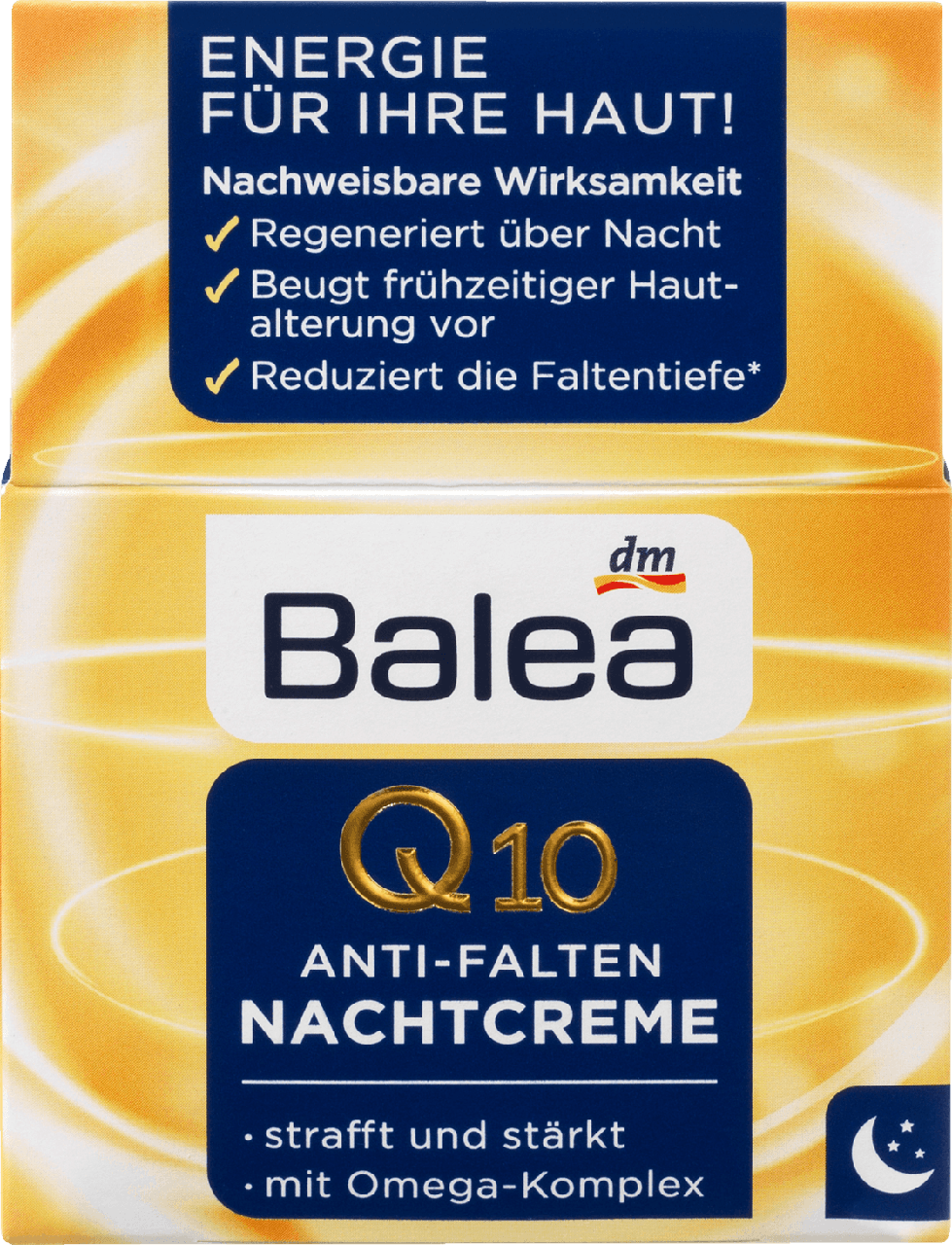 Ночной крем против морщин Balea Q10 Anti-Falten
