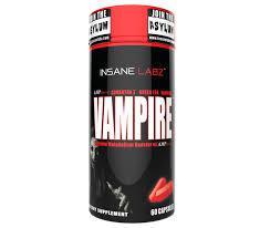 Жиросжигатель InsaneLabz Insane Vampire 60 caps
