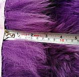 Тройная фиолетовая новозеландская овчина, дизайнерский ковер из меха мериноса, фото 2