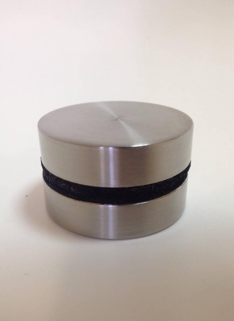 ODF-06-12-01-L10 Коннектор для стекла, диаметром 40 мм под резьбу М10