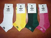 "Женские носки ""в стиле"" Adidas.Сетка р. 35-41. Асорти, фото 1"