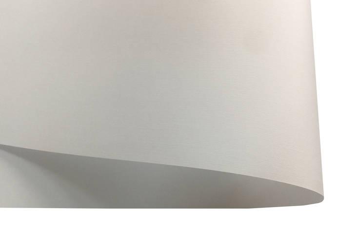 Дизайнерский картон Ultrawhite Ivory Board с тиснением лен, белый, 100 гр/м2