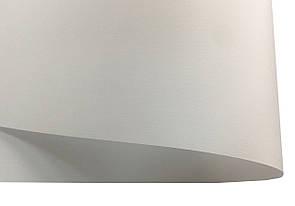 Дизайнерская бумага Ultrawhite Ivory Board с тиснением лен, белая, 100 гр/м2
