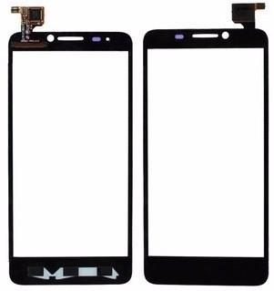 Сенсорний екран для смартфону Alcatel One Touch 6030 Idol, тачскрін чорний