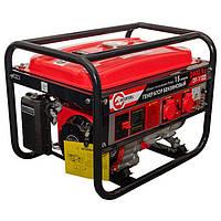Генератор бытовой бензиновый 2.4 кВт., 5.5 л.с., 4-х тактный, ручной пуск Intertool DT-1122, фото 1