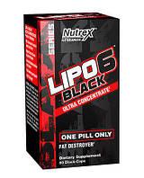 Жиросжигатель Nutrex Lipo 6 Black Ultra Concentrate 60 caps