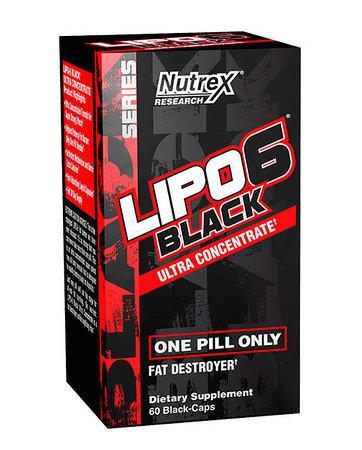 Жіросжігателя Nutrex Lipo 6 Black Ultra Concentrate 60 caps